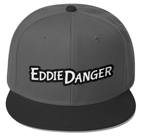 EDDIE DANGER RED / WHITE LOGO 1 SNAPBACK CAP