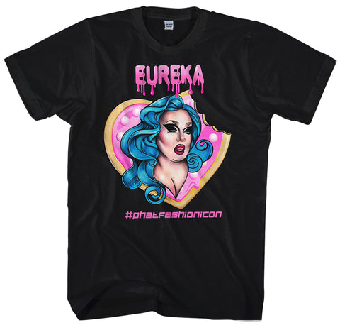 EUREKA O'HARA PINK CIRCLE by RYAN VINCENT T-SHIRT