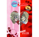 ENAMEL PINS - TRIXIE / KATYA HEARTS ENAMEL PIN SET