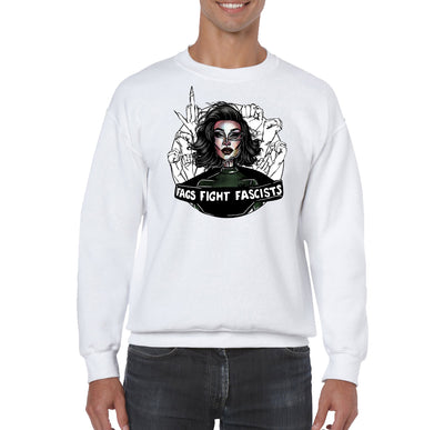 "SWEATSHIRTS - J ""Fight Fascists"" Sweatshirt"