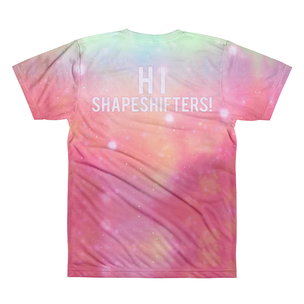 SUBLIMATED T-SHIRTS - JAYMES MANSFIELD SHAPE SHIFTER SUBLIMATED T-SHIRT
