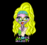SWEATSHIRTS - JAMES MAJESTY ZOMBIE FACE SWEATSHIRT