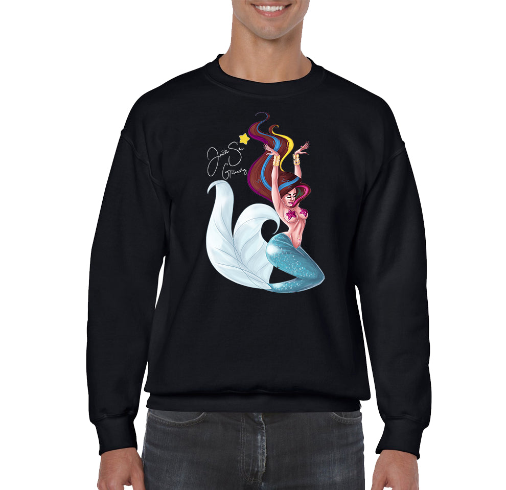 SWEATSHIRTS - JESSIKA STAR MERMAID V1 SWEATSHIRT