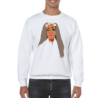 SWEATSHIRTS - MISS TOTO CRYING QUEEN SWEATSHIRT