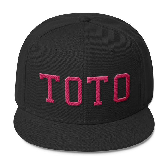 HEADWEAR - MISS TOTO LOGO 3D EMBROIDERED SNAPBACK CAP