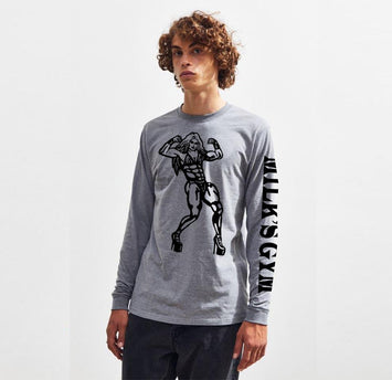 LONG SLEEVE T-SHIRTS - MILK