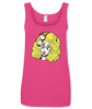 TRIXIE MATTEL PUPPY TEETH LADIES TANK TOP