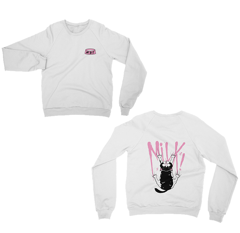 "UK LISTING - MILK ""MS. BIT"" SWEATSHIRT"