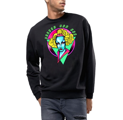 VANDER VON ODD by THE DRINKY BEAR SWEATSHIRT