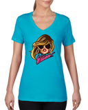 WILLAM SIGNATURE LADIES VNECK T-SHIRT