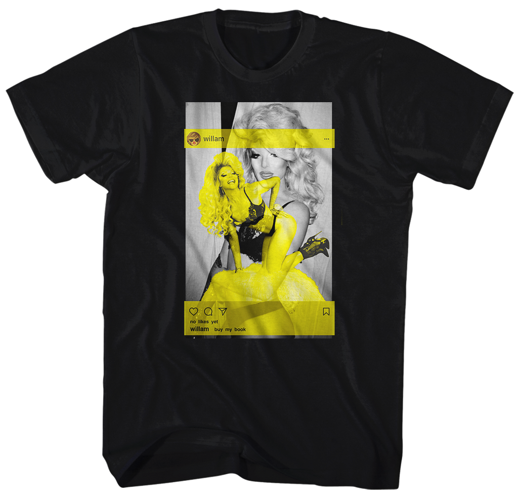 "WILLAM ""SOCIAL GIRL"" T-SHIRT (VERY LIMITED QUANTITIES)"