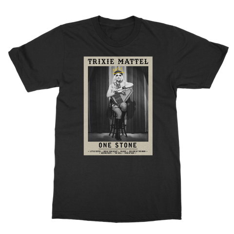 "UK LISTING - TRIXIE MATTEL ""ONE STONE"" Classic Adult T-Shirt"