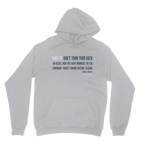 "THE OFFICE ""RULE 17"" Classic Adult Hoodie"