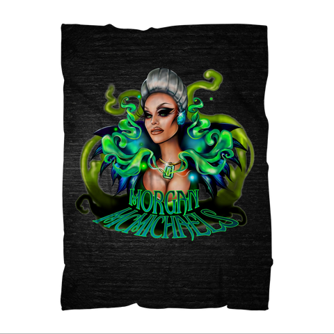 "UK LISTING - MORGAN MCMICHAELS ""QUEEN"" Sublimation Adult Blanket"