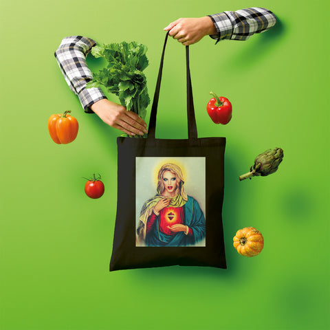 Katya Zamolodchikova Portrait Shopper Tote Bag
