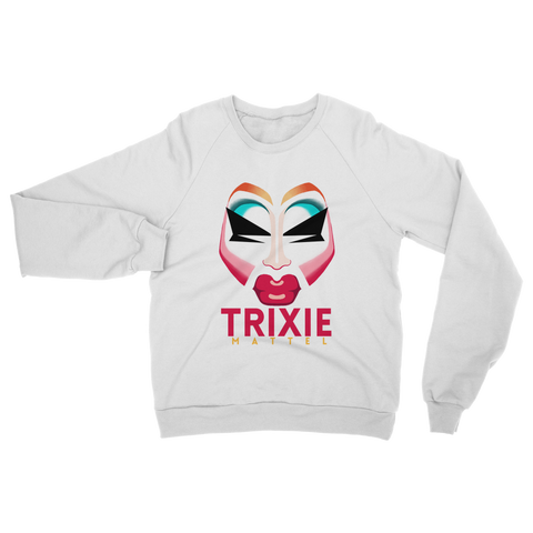 UK LISTING - TRIXIE MATTEL FACE Classic Adult Sweatshirt