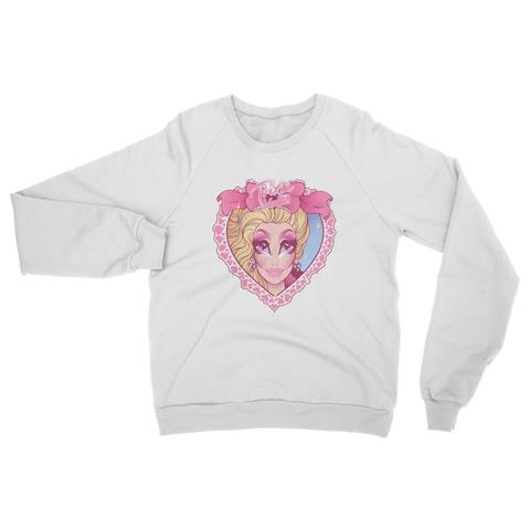 "UK LISTING - TRIXIE MATTEL ""HEART"" SWEATSHIRT"
