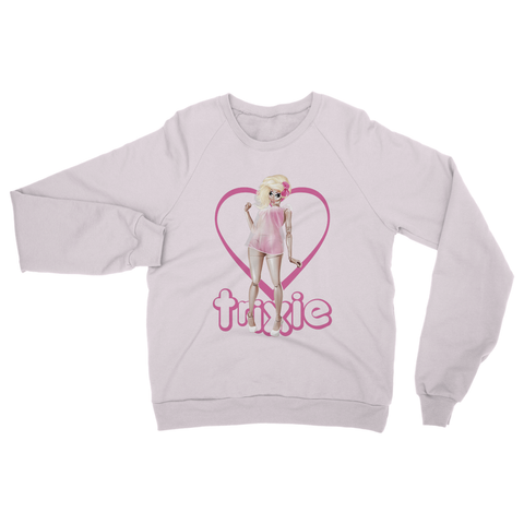 "UK LISTING - TRIXIE MATTEL ""LIVING DOLL"" SWEATSHIRT"