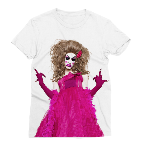 "ALASKA ""I RAN INTO ALASKA AT THE CLUB"" BY HOUSE OF AVALON T-SHIRT"