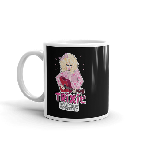"TRIXIE ""LIL BIT COUNTRY"" 11oz Mug"