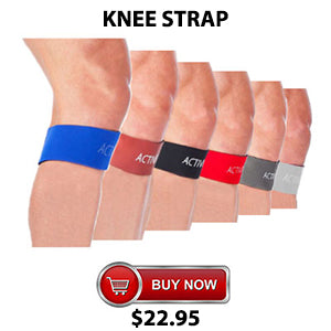 Active650 Knee Strap for minor ligament damage and ACL injury