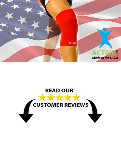 ACTIVE650 Knee Sleeve is made in the US.  Read our customer reviews