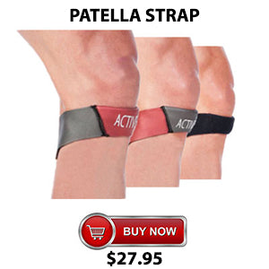 Active650 Patella Strap for Jumpers Knee pain and patella tendinitis or tendonitis