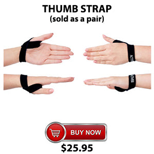 Active650 Thumb Strap for amazing pain relief from sore thumbs