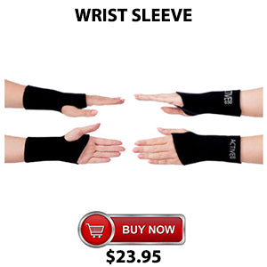 Active650 Wrist Sleeve for amazing pain relief from sore wrists