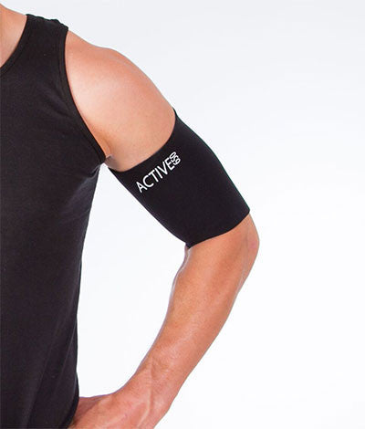 Bicep Tricep Support Sleeve -Upper Arm compression ...