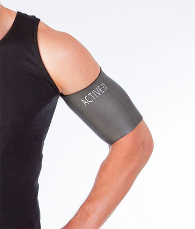 Bicep Tricep Support Sleeve -Upper Arm compression- Active650 USA ...