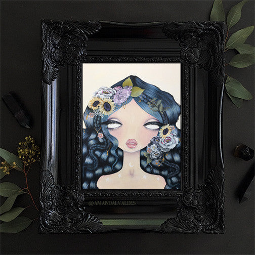 "Garden of Pisces Full 8.5""x11"" Print"