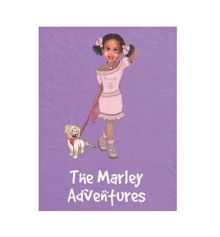 Marley Fleece Blanket - Marley Adventures