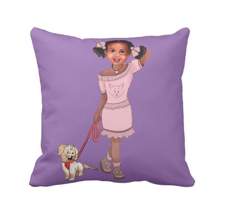 Marley Throw Pillow - Marley Adventures