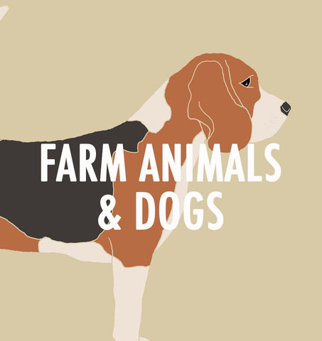Farm animals and Dogs
