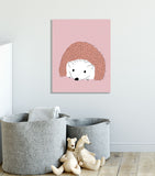 hedgehog kids art