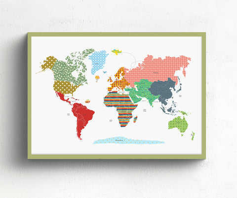 nursery world map