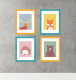 nursery framed wall art