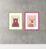 girls nursery wall art