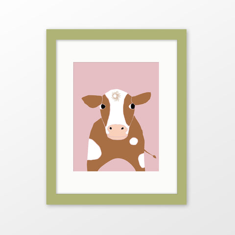 farm animal nursery art