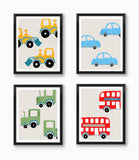 Boy nursery prints