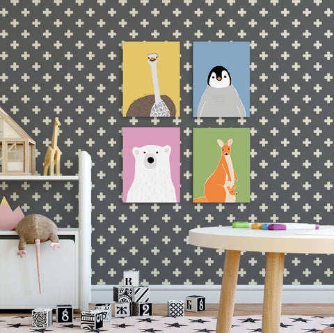 Kids prints  nursery art  Modern kids gallery
