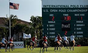Polo Players and Fans Follow The Sun