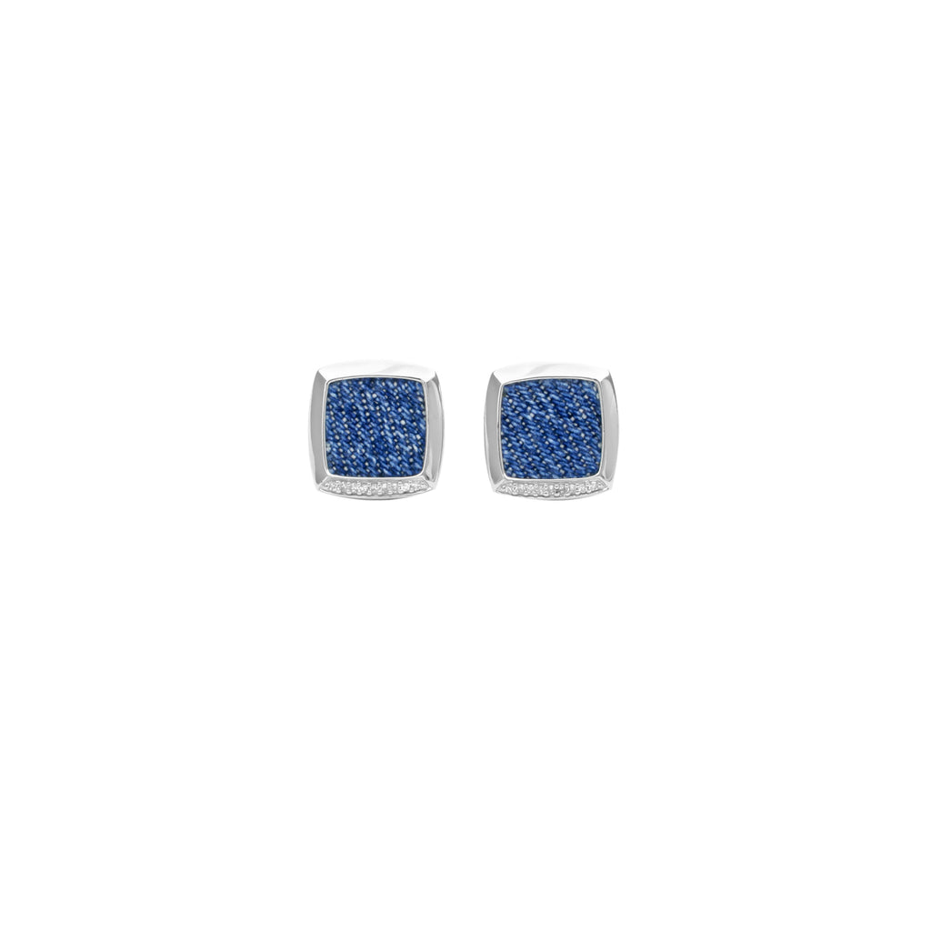 925 Silver Square Stud Earrings