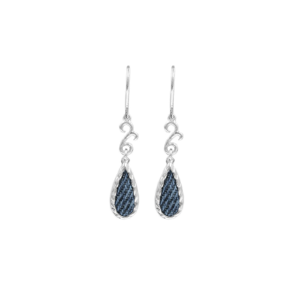 925 Silver Teardrop-shaped Earrings