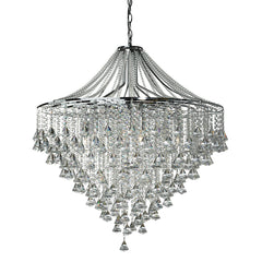 Grosvenor Crystal 7 Light Pendant Chandelier