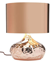 Rumble Copper Table Lamp