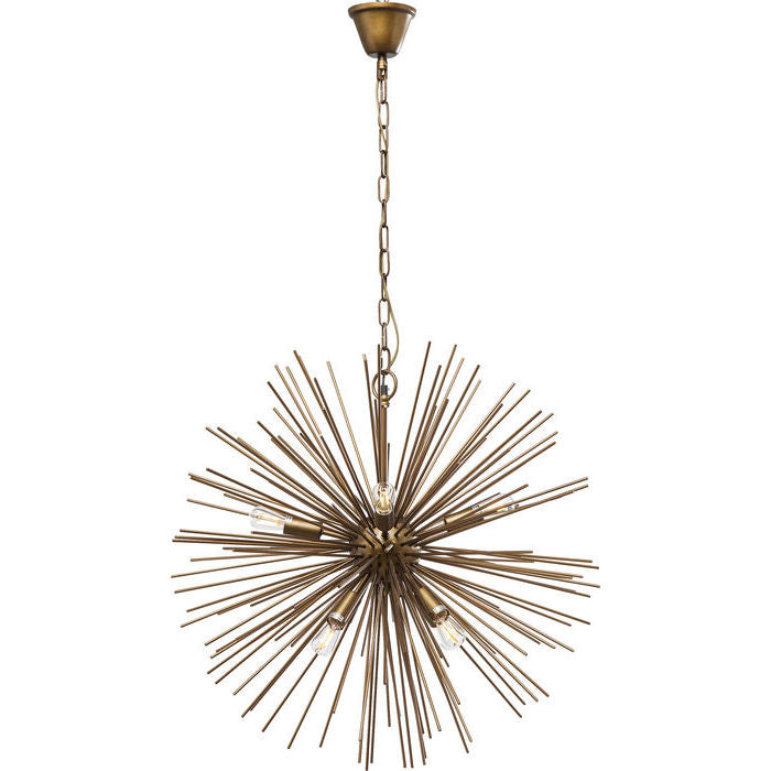 Beam Brass Pendant Light