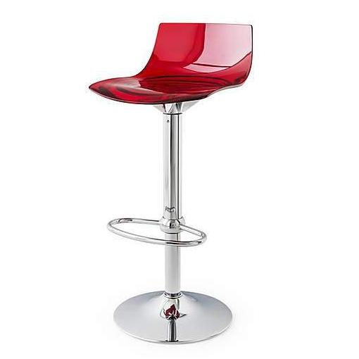 Calligaris L'eau Adjustable Lightweight Bar Stool