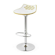 St Barth Gold & Grey Stool